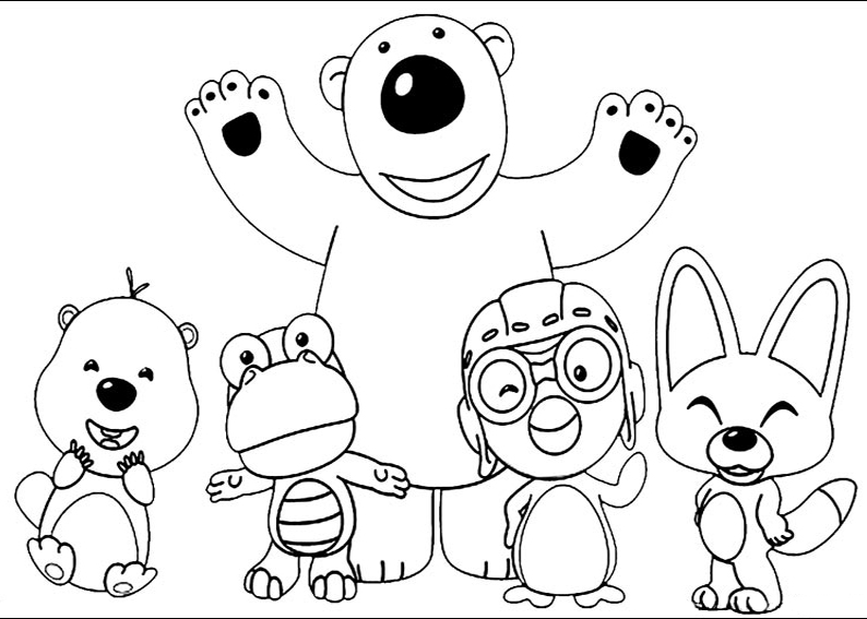 Crush And Squirt Coloring Pages Download And Print For Free