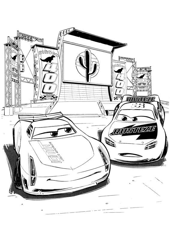 I dibujos fanart sono stati realizzati da gilp per www.cartonionline.com. Cars 3 coloring pages to download and print for free