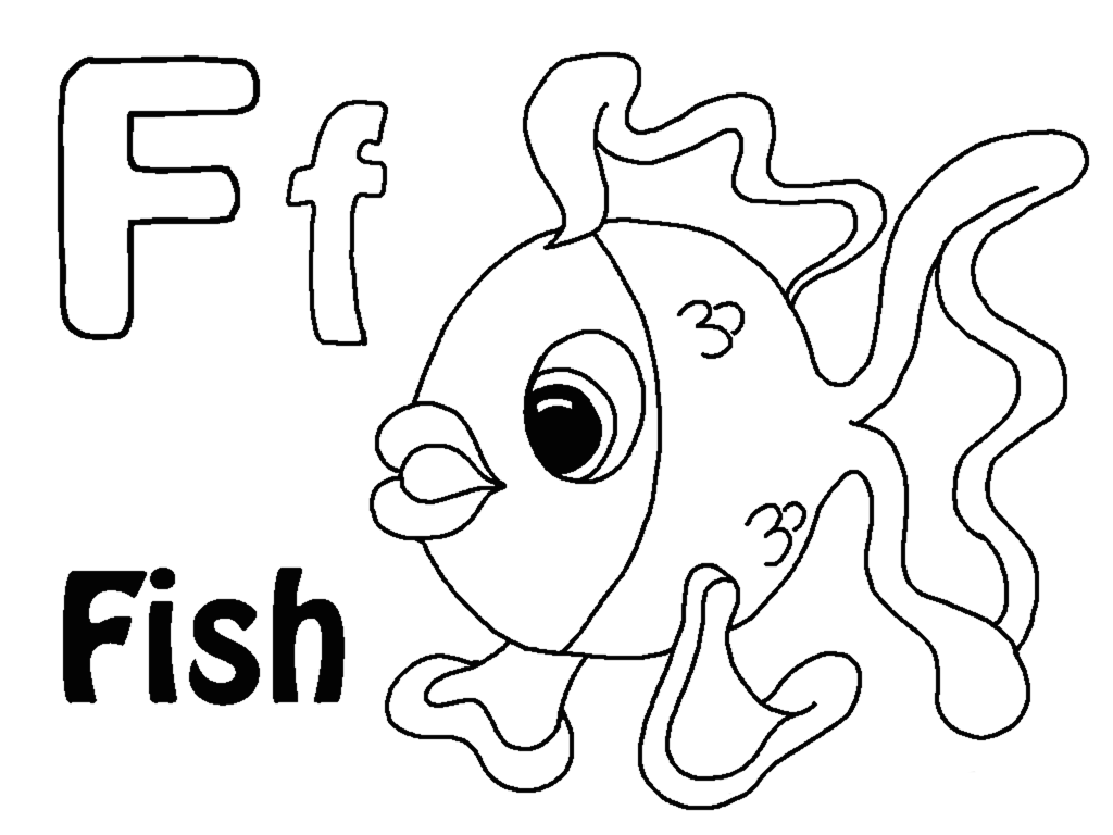 Letter F Coloring Pages To Download And Print For Free