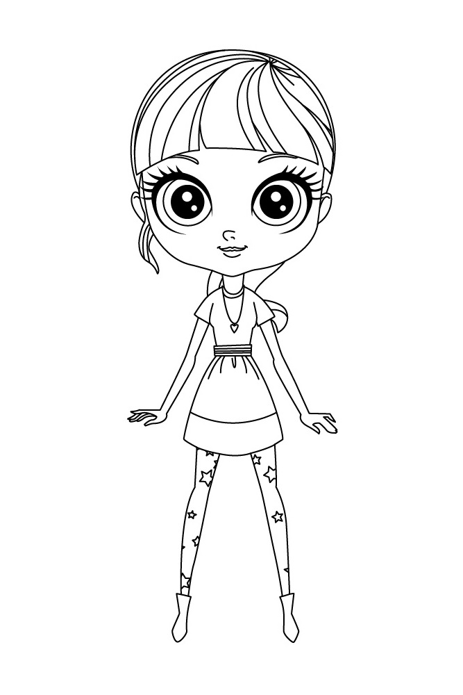 Littlest Pet Shop coloring pages for kids to print for free