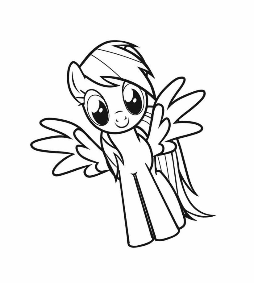 My Little Pony coloring pages for girls print for free or