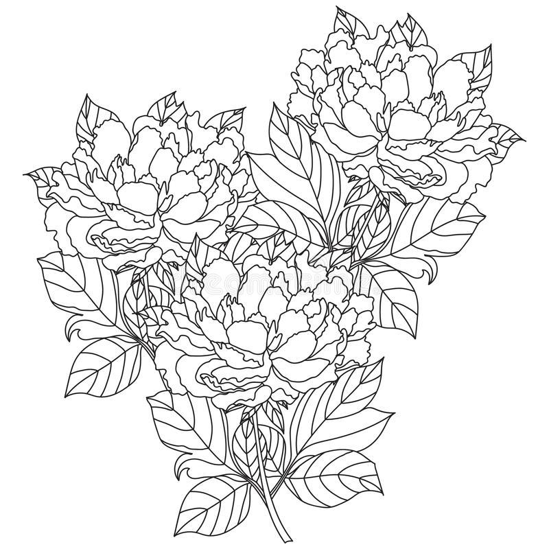 Drawn Bouquet Wedding Bouquet