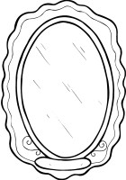 Mirror Coloring Pages Printable Coloring Pages