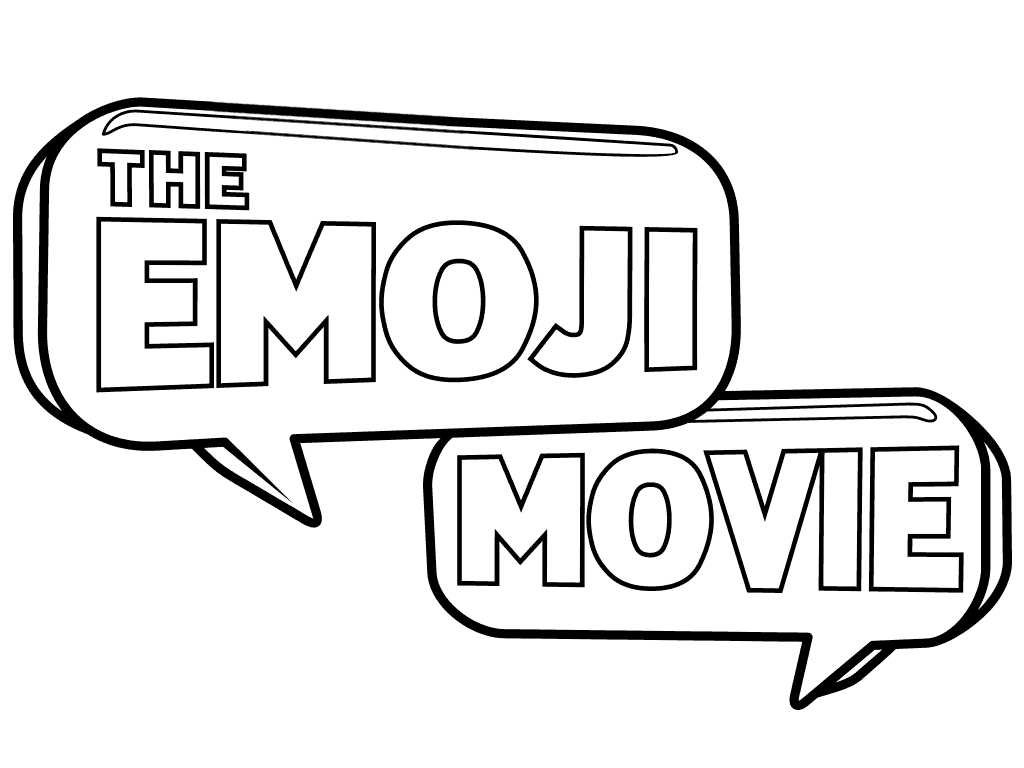 The Emoji Movie Coloring Page To Download And Print For Free