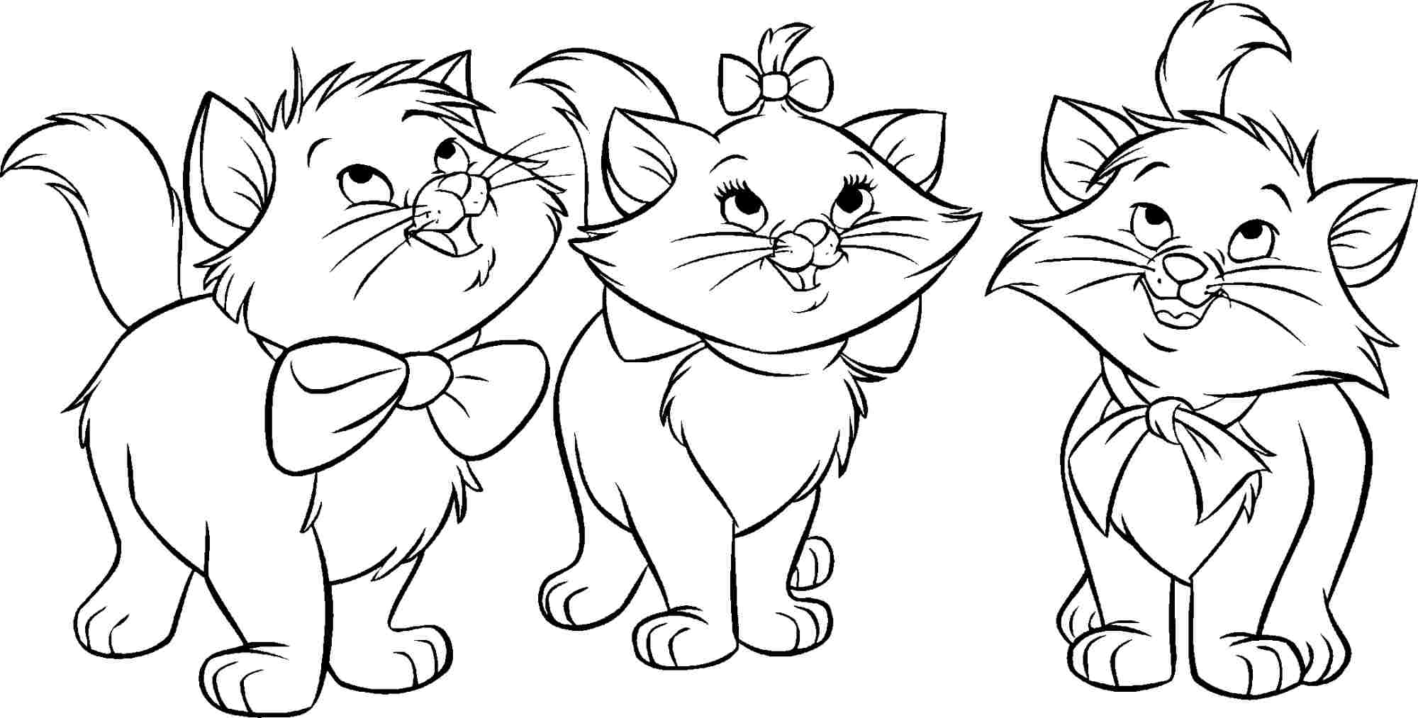 The Aristocats Coloring Pages To Download And Print For Free
