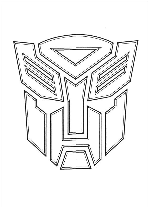 Robots and transformers coloring pages for kids. Just