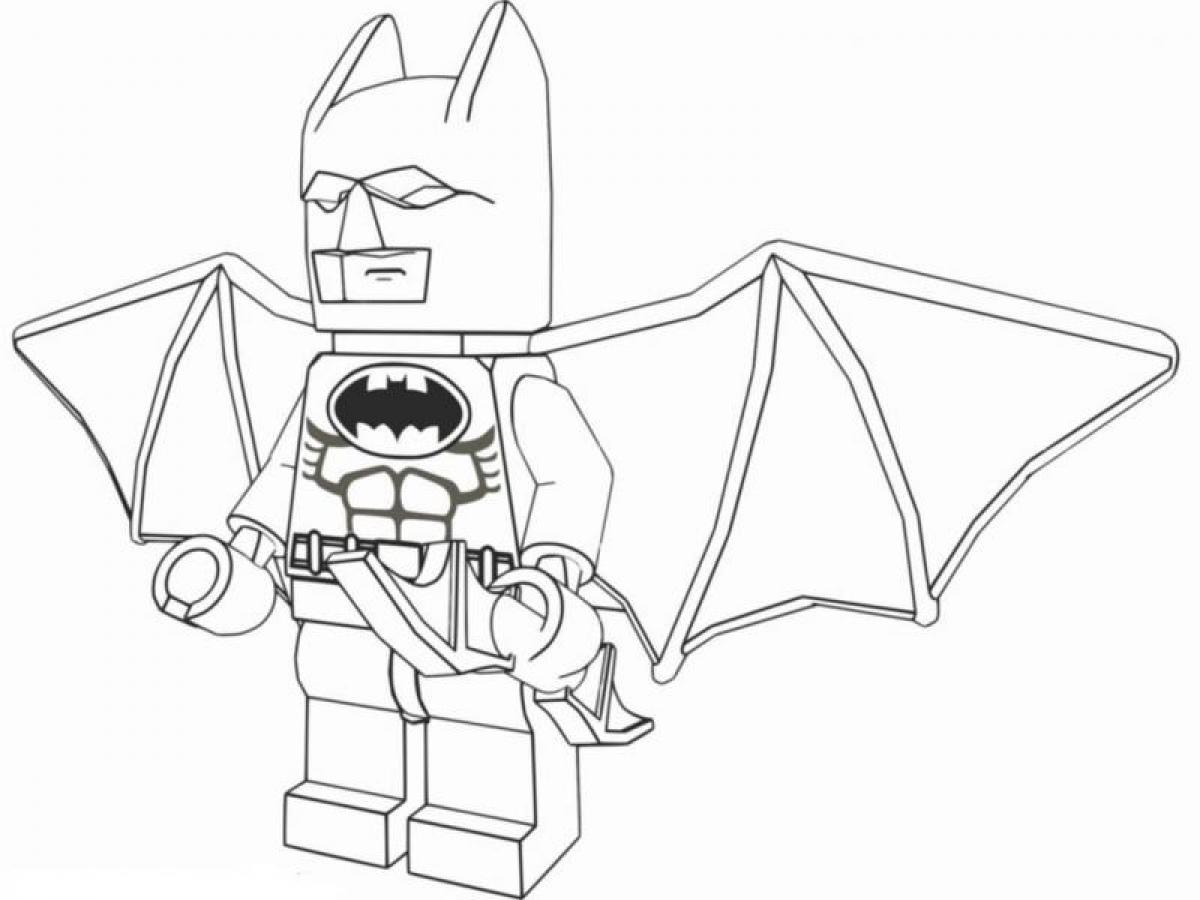 Kolorowanki Kolorowanki Lego Batman Do Druku Dla Dzieci Auto