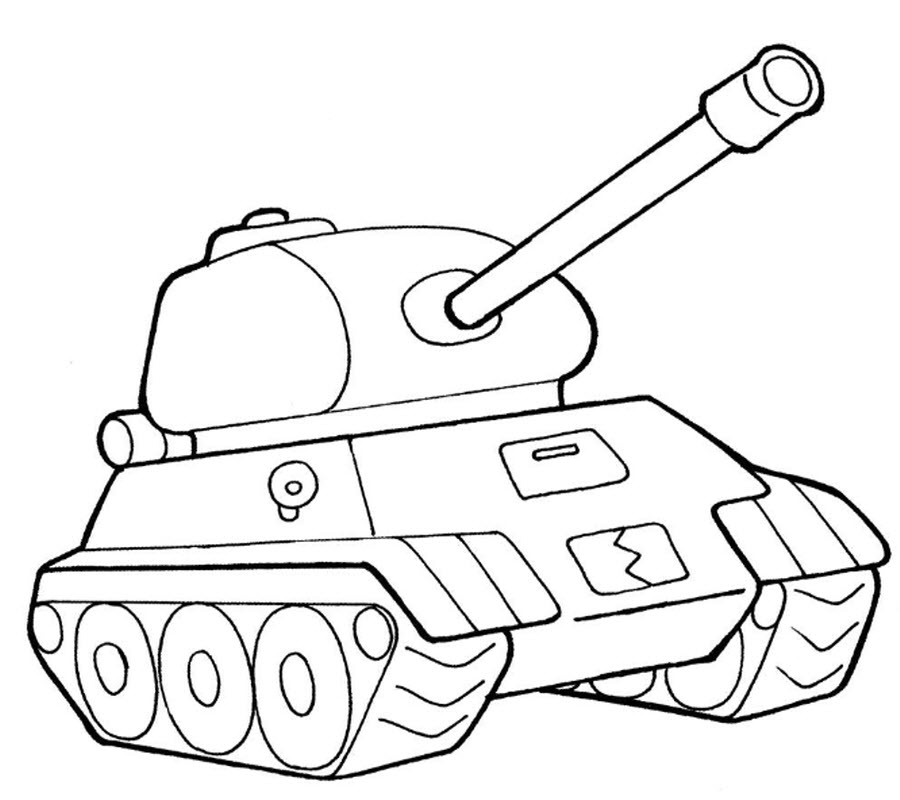 Coloring pages for children of 4-5 years to download and