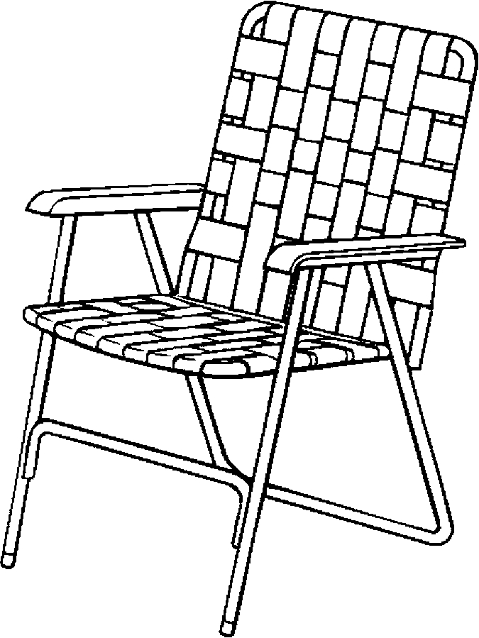 Chair coloring pages to download and print for free
