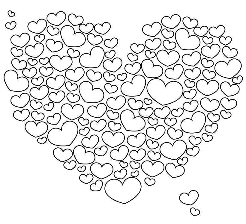 Coloring pages anti-stress for children to download and