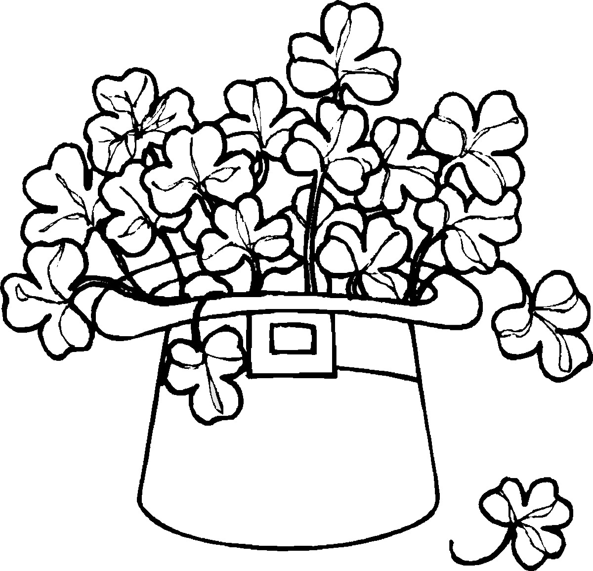 St Patrick S Day Coloring Pages For Childrens Printable