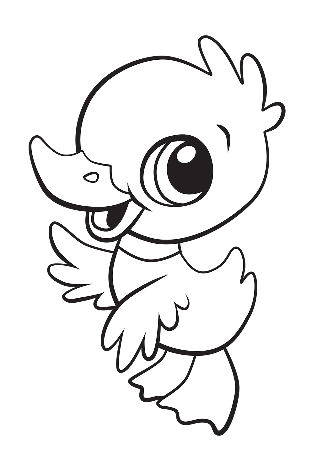 Large Coloring Pages To Download And Print For Free