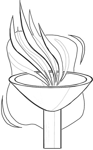 Olympic games (olympics) coloring pages to download and