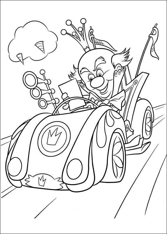 wreckit ralph coloring pages to download and print for free