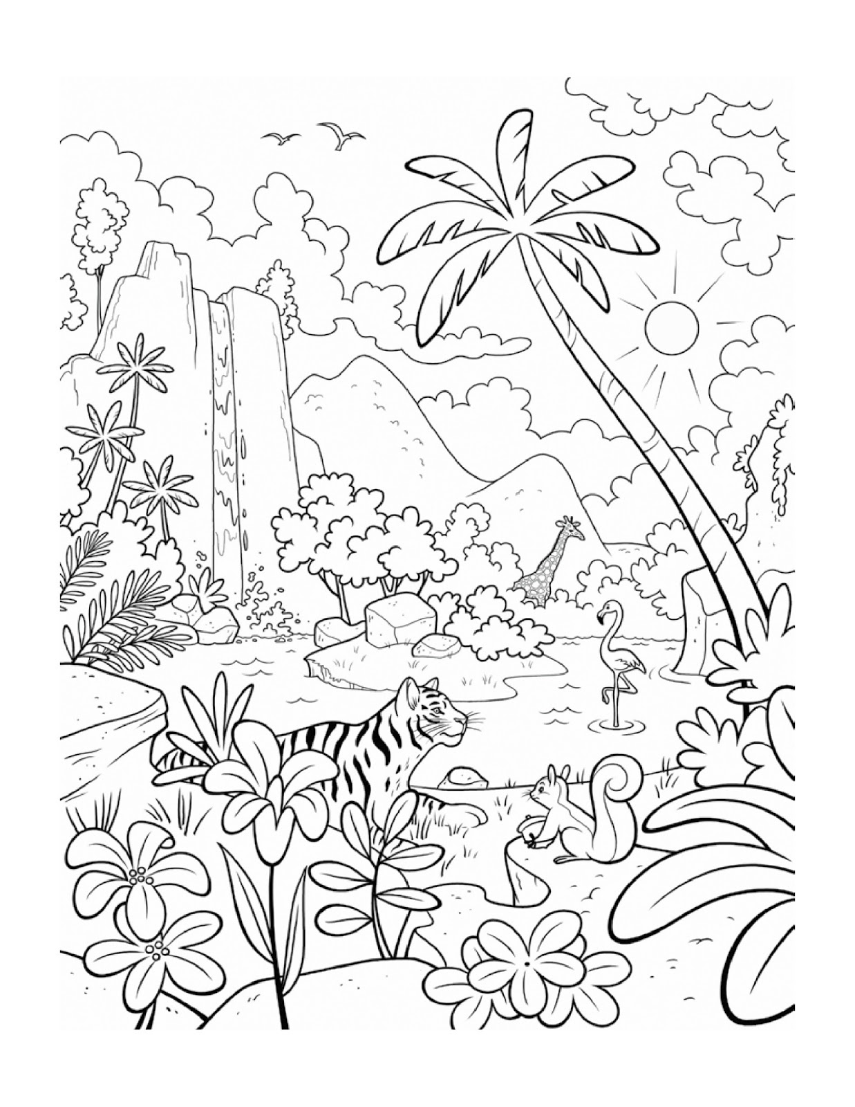 Best Coloring Page For Kids Drawing Coloring Painting