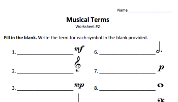 Just Added: Treble & Bass Clef Worksheet - Color In My Piano