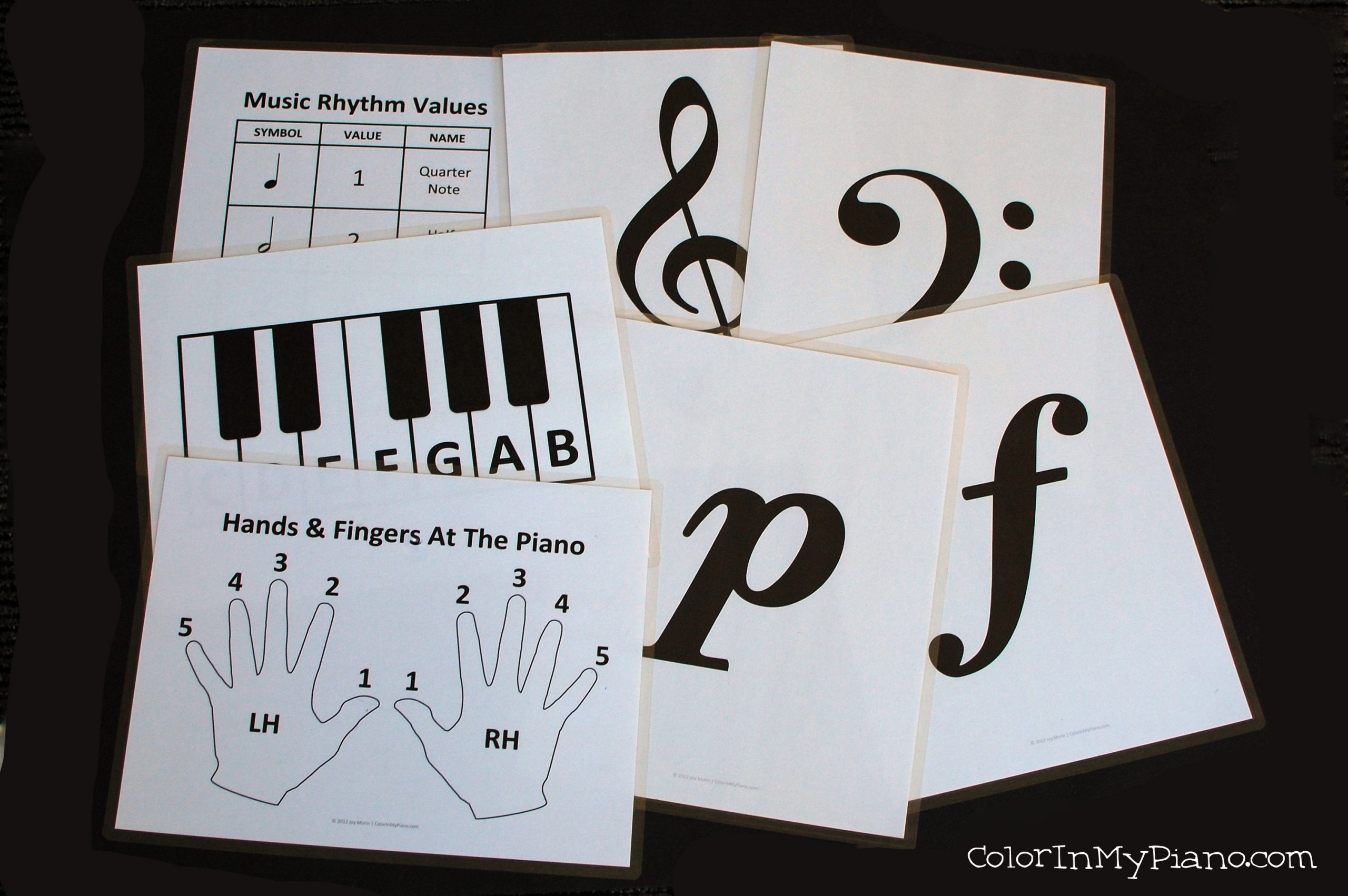 Freebie Signs For Beginner Piano