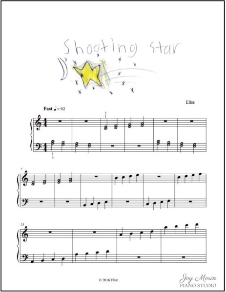 Elise A - Shooting Star w