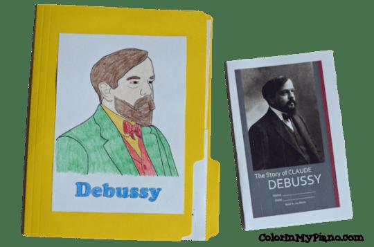 Debussy lapbook