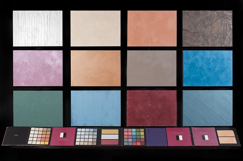 Le pitture per interni più usate sono le idropitture ma sono sempre più utilizzate anche le pitture a calce per la loro salubrità. Colori Colori Sezzi