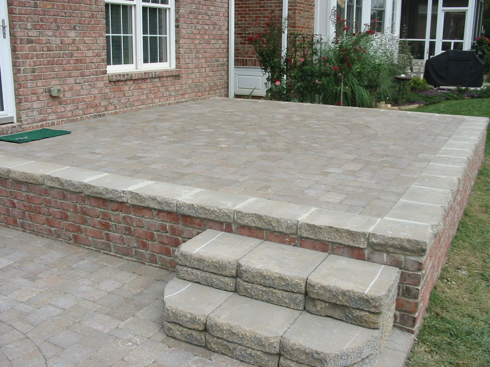 Paver vs Concrete or Asphalt  Burlington Landscaper  Triad Landscaping  Outdoor Kitchens