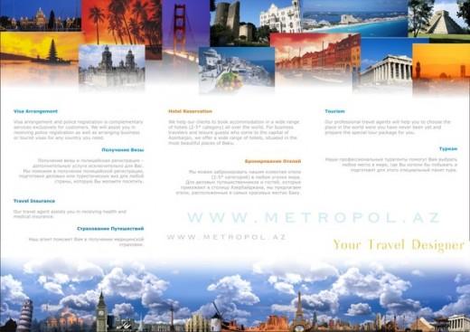25 Beautiful Travel Brochure Design Examples ColorLava