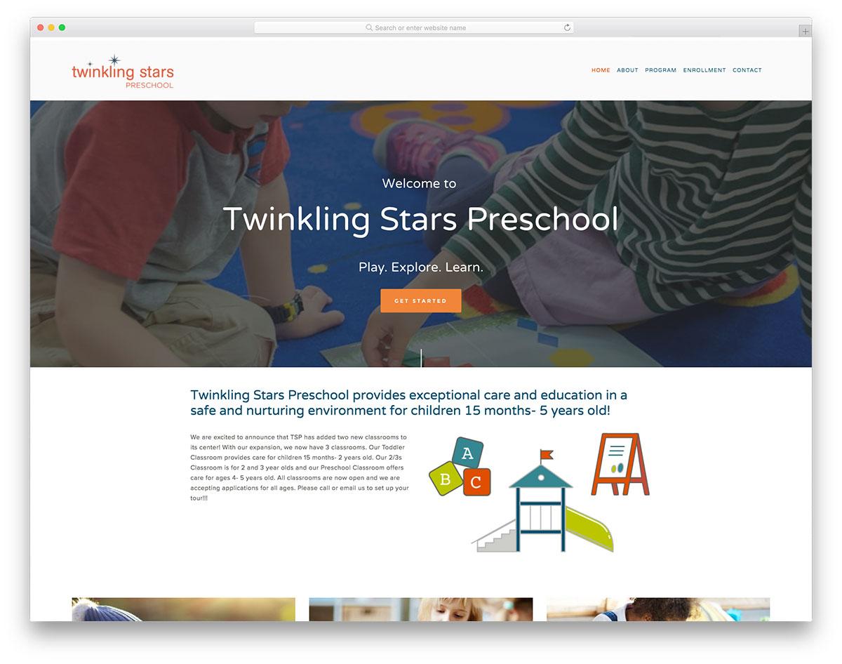 Twinkling Stars Preescolar