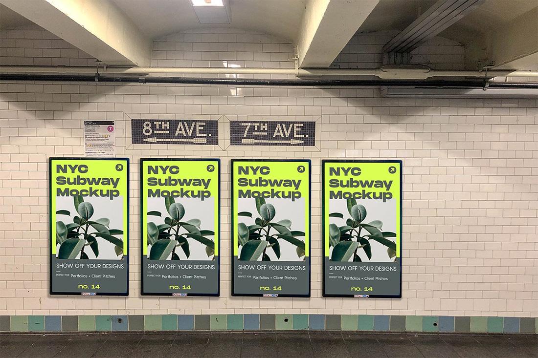 12 free subway ad