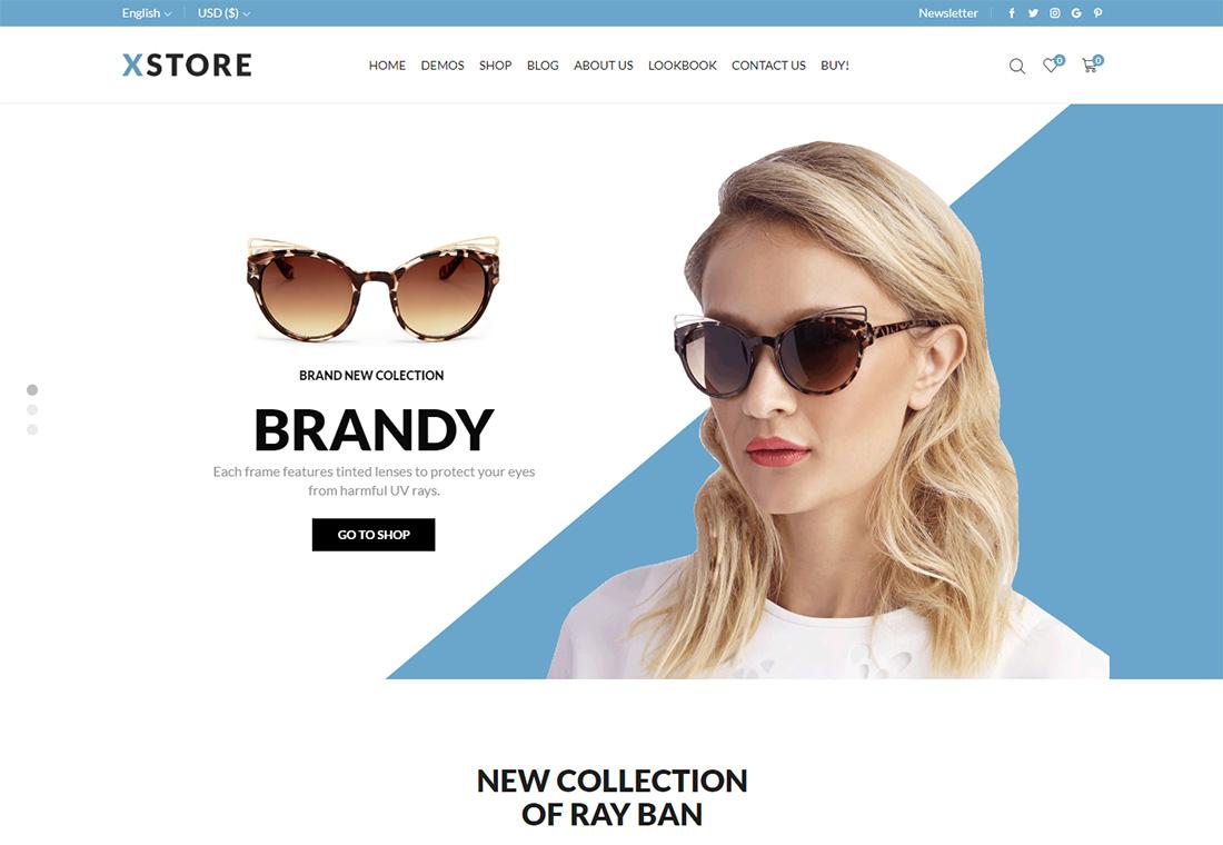 XStore - Tema de WordPress para un solo producto