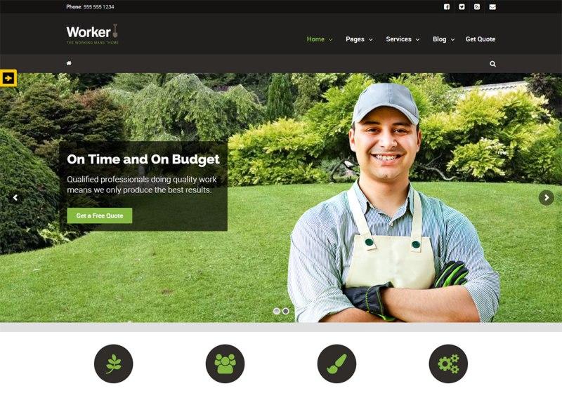 Tema de WordPress Worker Plumber