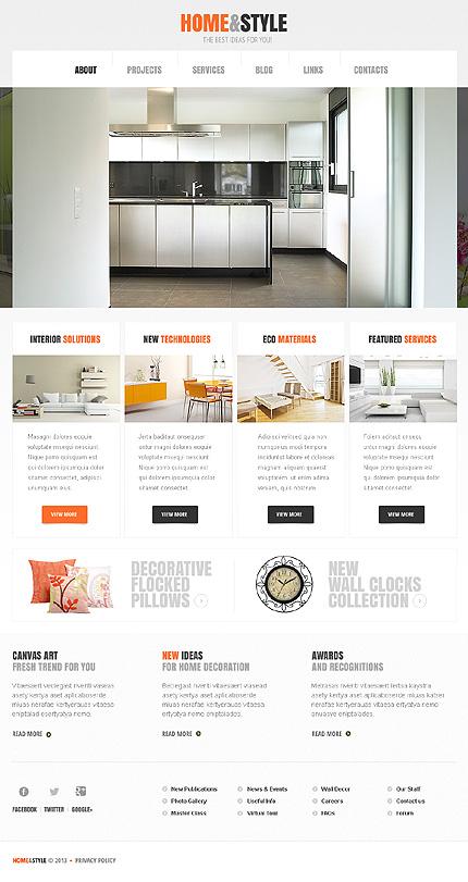 Blackwell WordPress Theme For Interior Decoration