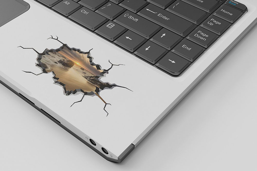 Download Peeled Sticker Mockup Free Yellowimages