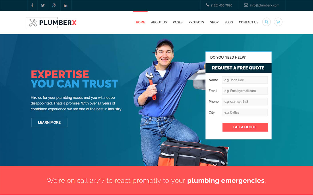 Real estate real estate marketing | templates written by: 13 Best Plumber WordPress Themes 2021 Colorlib