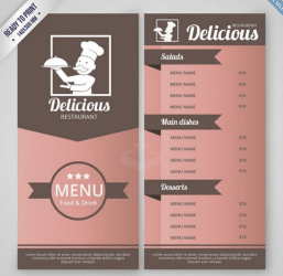 Top 42 Free Restaurant Menu PSD Templates & Mockups 2020 Colorlib