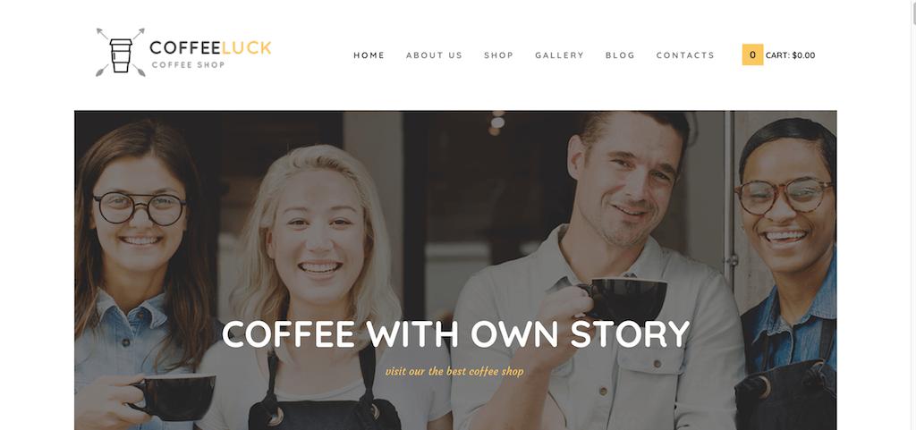 CoffeeLuck - Cafetería