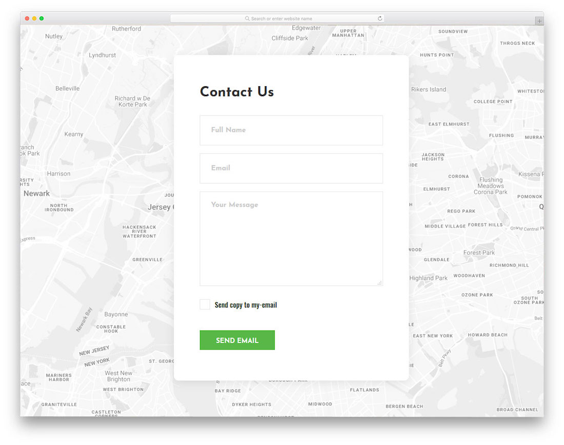 Top 20 Free Html5 Amp Css3 Contact Form Templates