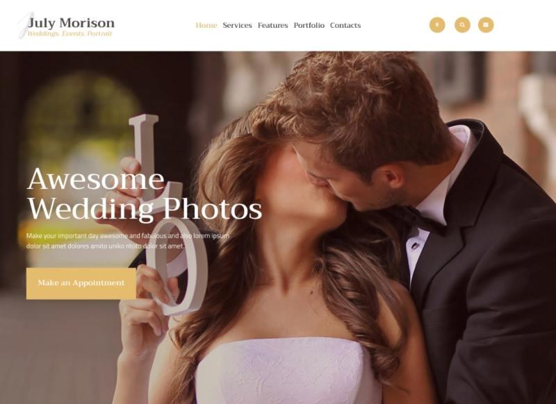 Julio Morison | Un atractivo evento Portafolio de fotógrafos y tema de blog de WordPress