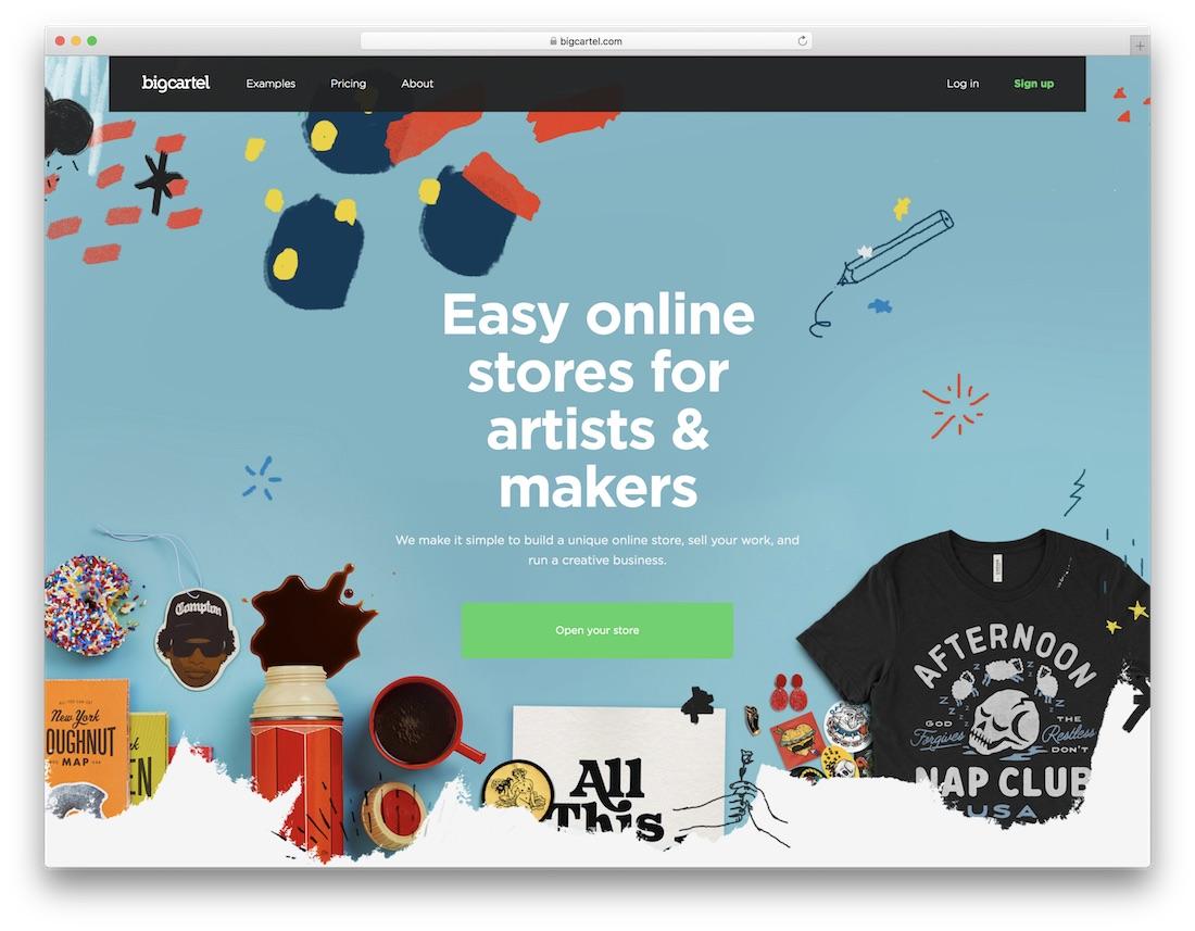 25 apparel website builder