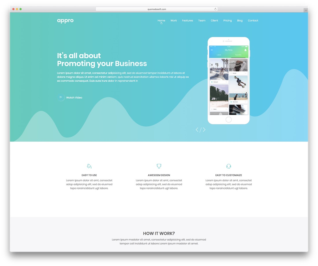 25 Simple Website Templates Html Amp Wordpress