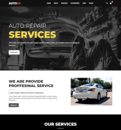 19 top car automotive website templates 2019 [ 1100 x 864 Pixel ]