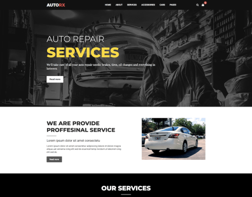 small resolution of 19 top car automotive website templates 2019