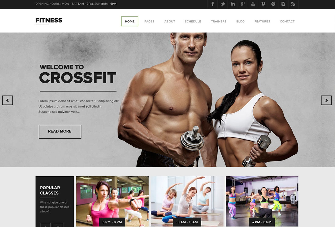 38 Best WordPress Fitness Themes 2019 For Gym And Fitness