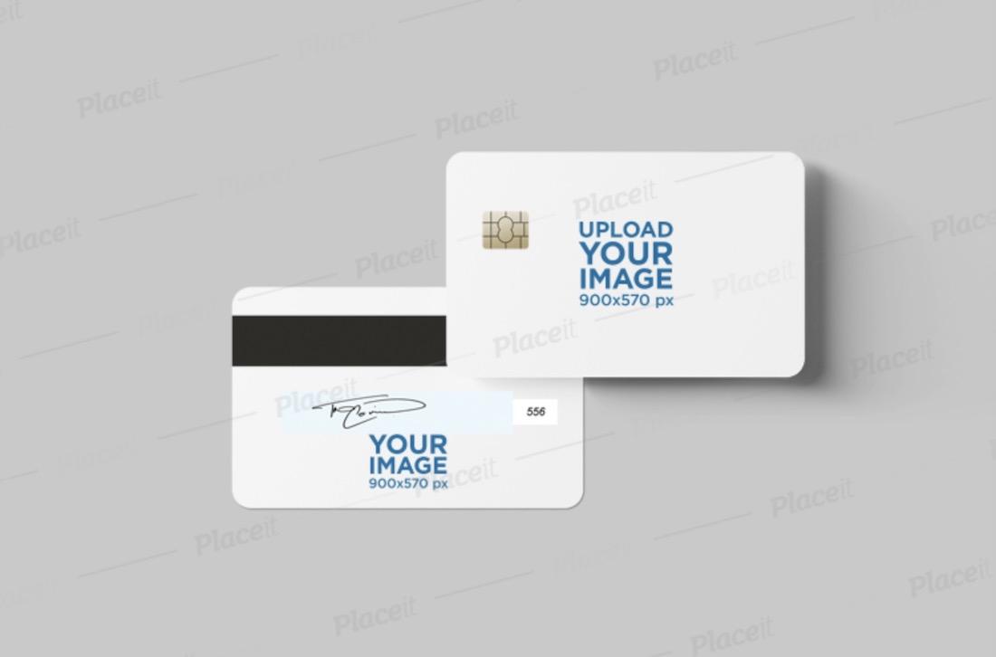 38 Free And Premium Credit Card Mockups Colorlib