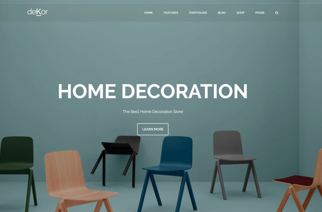 24 Best Responsive Interior Design Website Templates 2019