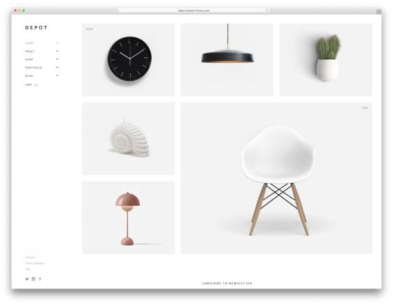 Depot  WordPress eCommerce theme