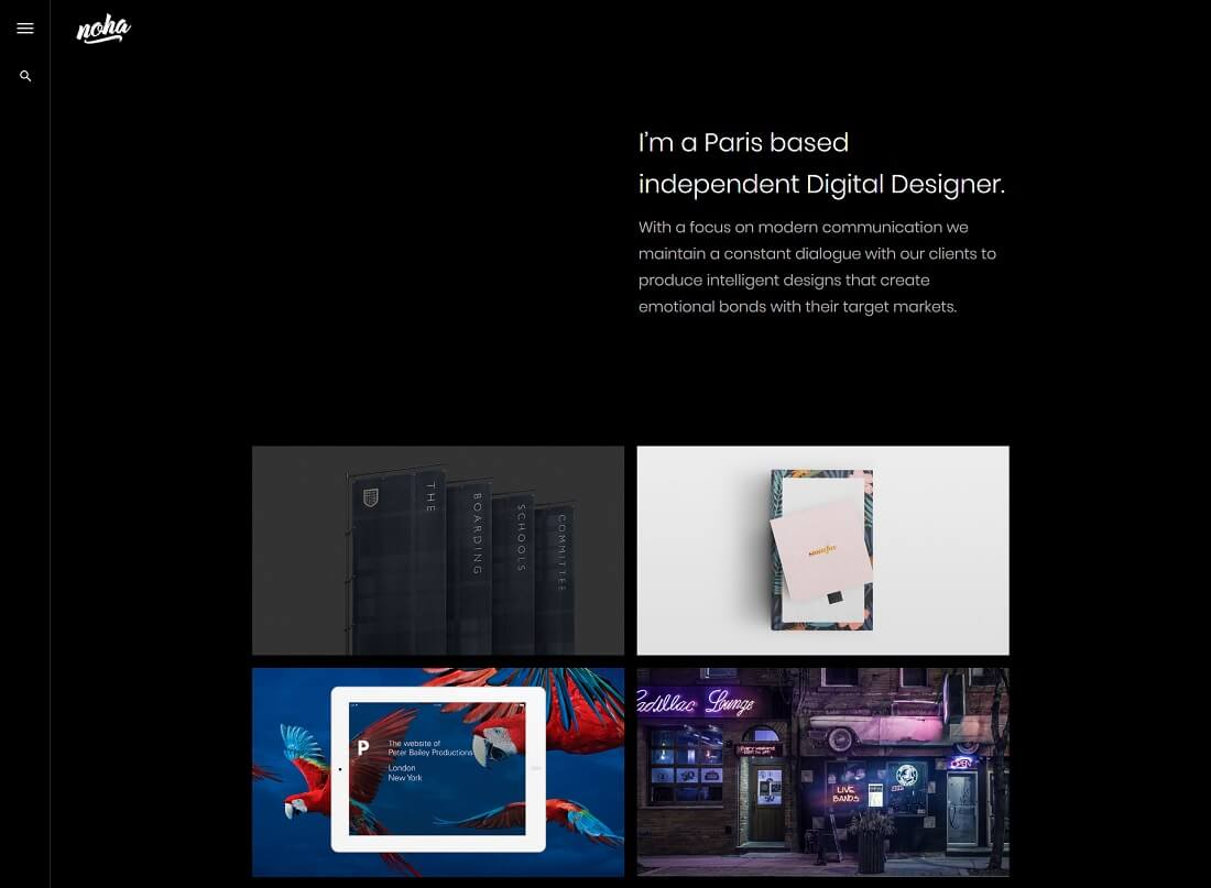 28 Best Modern Designer Website Templates 2019  Colorlib