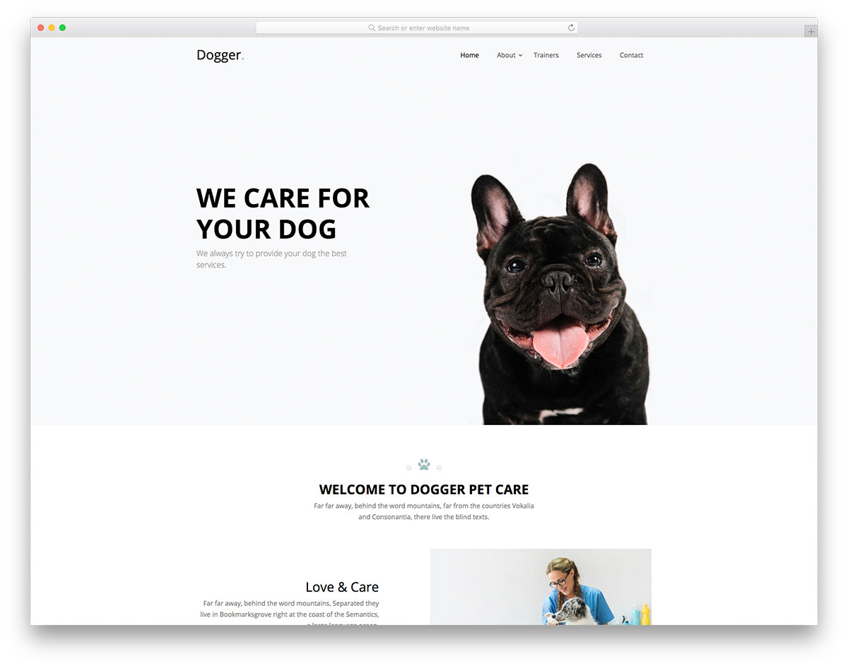 Dogger Free Template