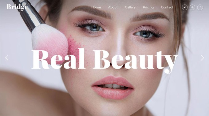 14 best makeup artist wordpress themes 2020 - colorlib