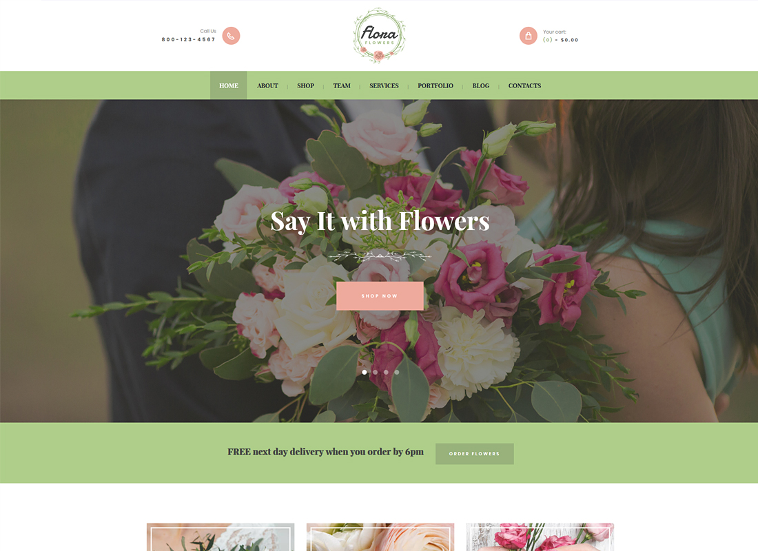 Best flower website templates and themes. Top 8 Flower Shop WordPress Themes 2021 Colorlib