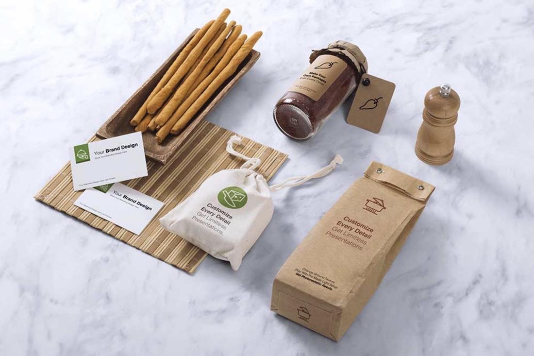 maqueta de marca de café gratis en psd